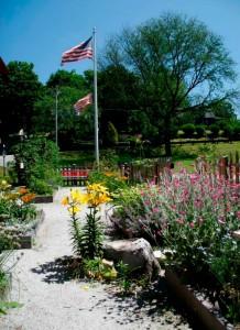 Leffingwell House Museum Garden